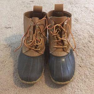Women's LL Bean Duck Boots